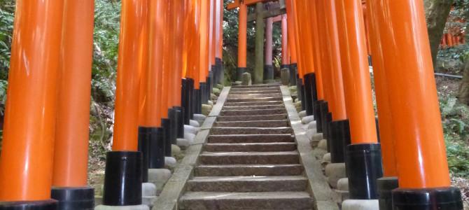 Thousands of Torii Gates at Fushimi Inari Shrine