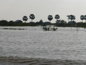 Floodplain, normally farmland.