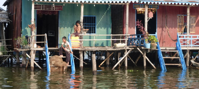 The Floating Village of Kompong Phluk