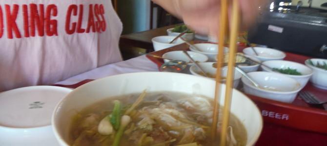 Lunch in Cat Ba Town