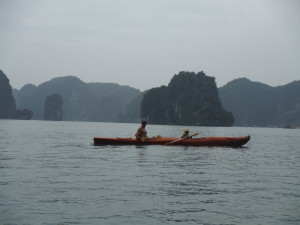 Nathan and Elio, Halong Bay