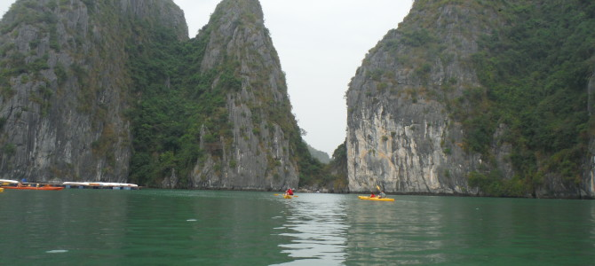 Jedi Training in the Karsts of Halong Bay