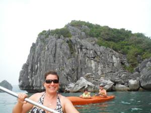 Kathrin, Halong Bay
