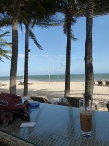 On the beach in Mui Ne
