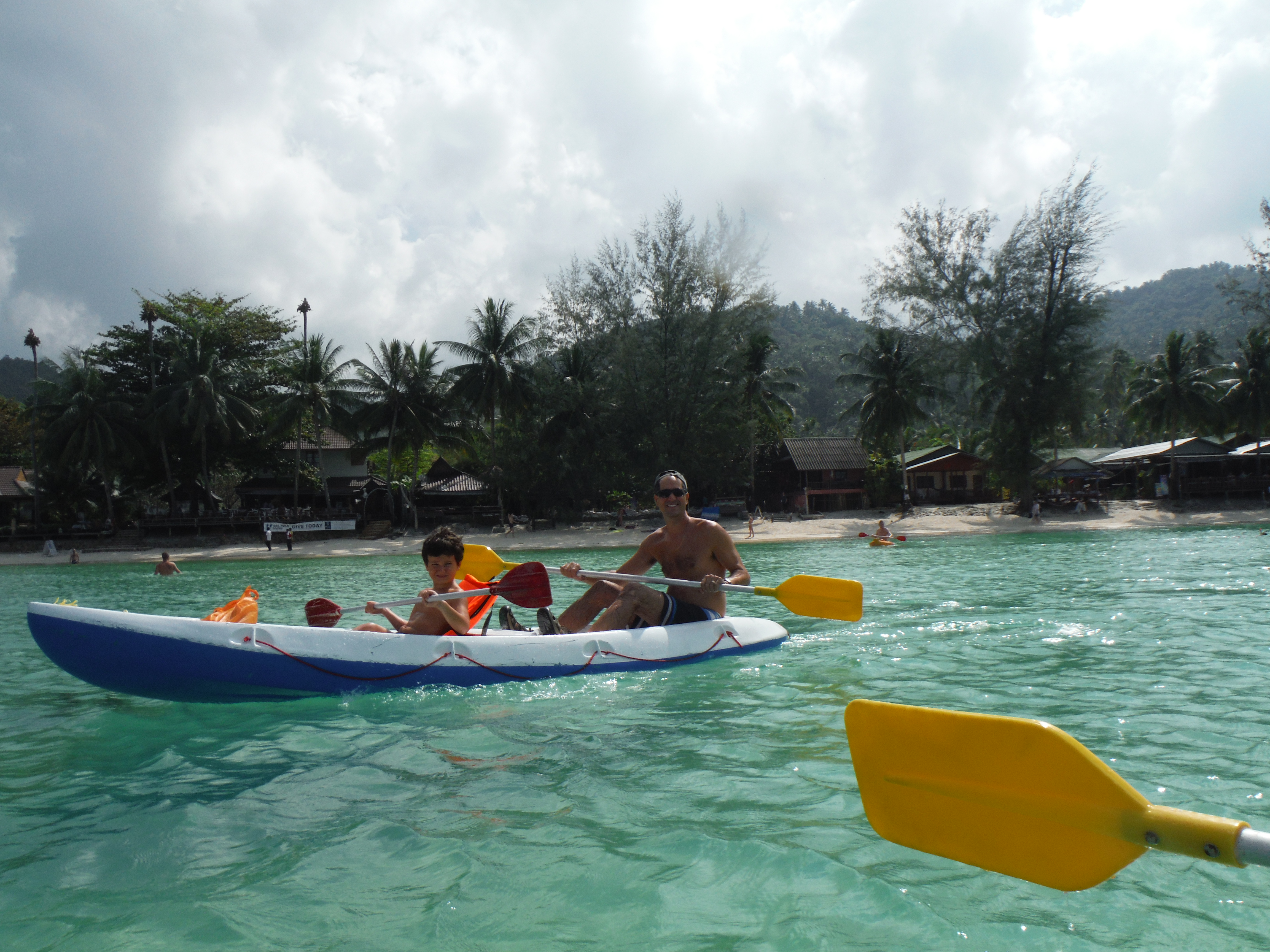 Kayaking on Koh Phangan  Taking the Big Break