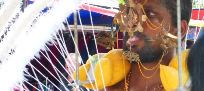 The Incredible Indian Festival of Thaipusam, Penang