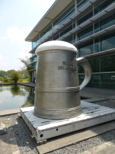 World's Largest Pewter Beer Tankard