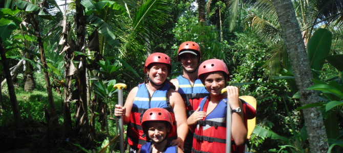 Rafting the Rain Forest!