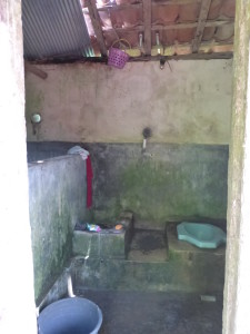 Restroom / toilet in the compound