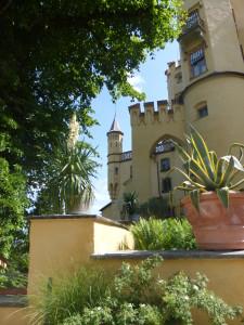 Gardens of Hohenschwangau Castle