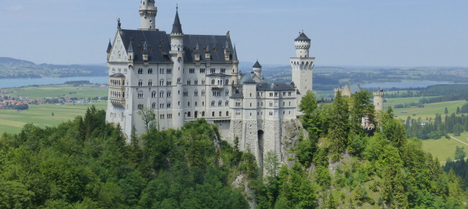 Crazy King Ludwig II's Neuschwanstein Castle