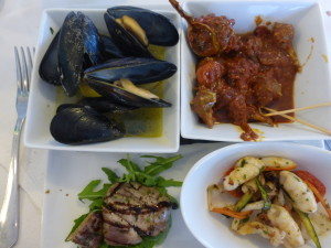 Sea food plate - Sea snails anyone?