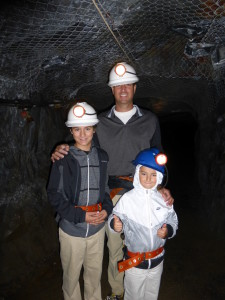 Exploring mines in Australia, March 2014