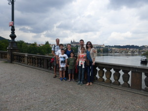 Exploring Prague with new friends from Vancouver, B.C.