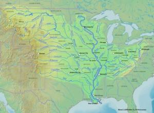 Mississippirivermap