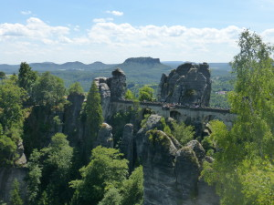 Bastei Bridge at Saxon Switzerland