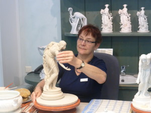 Building Meissen figurines