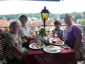 Lunch in Meissen