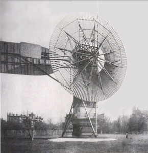 """This is the first """"wind turbine"""" ever made."""