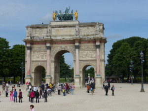 We also visited the Arc de Triomphe in Paris, which was commissioned by Napoleon to celebrate his victory at Austerlitz.