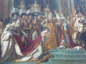 Fast Fact: Napoleon declared himself emperor in 1804. The big difference between First Consul and Emperor is that it assumes his descendants will also have the title of Emperor.