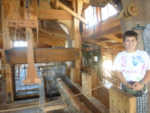 This one was a working sawmill. Zaans Schans, The Netherlands