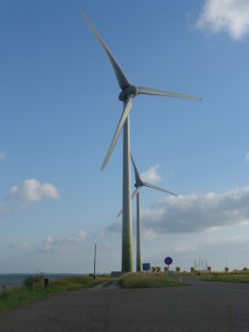 Wind turbines produce clean and renewable energy. They are also not much more expensive than other ways to produce power, such as coal or oil.
